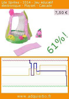 Lite Sprites - 3314 - Jeu éducatif électronique - Playset - Cascade (Jouet). Réduction de 61%! Prix actuel 7,50 €, l'ancien prix était de 19,28 €. https://www.adquisitio.fr/lite-sprites/3314-jeu-%C3%A9ducatif