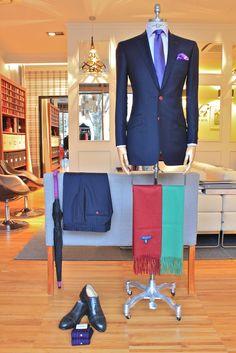 https://www.facebook.com/media/set/?set=a.10153013003799844.1073742348.94355784843&type=3  #fashion #style #menswear #mensfashion #mtm #madetomeasure #buczynski #buczynskitailoring #vbc #navysuit #suit #tailoring