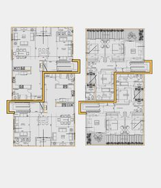 Town House Floor Plan, Unique House Design, Plan Design, Townhouse, Flooring, How To Plan, Architecture, Terraced House, Wood Flooring