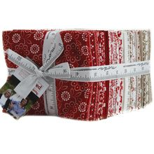 Project Red 38 Fat Quarter Bundle by Sweetwater for Moda Fabrics