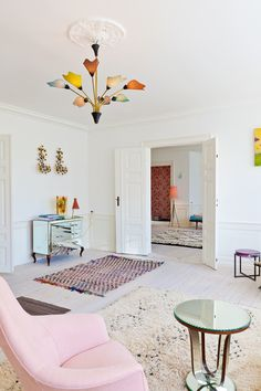 Inside a Fresh and Colorful Apartment in Copenhagen