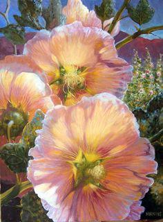 Цветочная живопись Elizabeth Horning