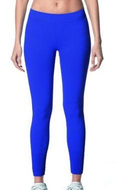 Blue Running Capris