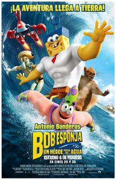 "Bob Esponja. Un héroe fuera del agua (2015) ""The SpongeBob Movie: Sponge Out of Water"" de Paul Tibbitt y Mike Mitchell - tt2279373"