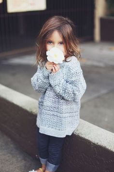 Imagem de girl, flowers, and cute