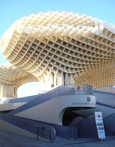 Metrosol Parasol, Sevilla, Spain Sevilla Spain, Places To See, Travelling, Louvre, Building, Seville Spain, Spain, Buildings, Construction