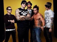 Johnny Christ, M Shadows, Synyster Gates, Dan the Body, & Zacky Vengeance
