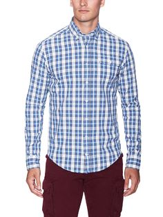 The Napkin Check Cotton Sportshirt