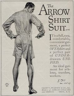 """""""...a perfect OVERshirt and a perfect pair of UNDERdrawers UNIFIED."""""""
