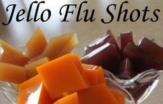 DIY Jello Flu Shots | These cubes are full of immunity boosting herbs that help your body fight off infection. #survivallife www.survivallife.com