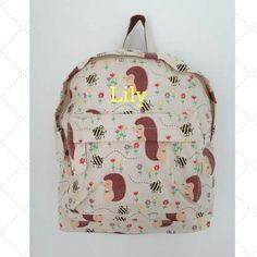 Honey The Hedgehog Personalised Mini Backpack