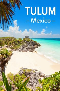 4 Best Things to Do in Tulum, Mexico.  Planning a Mexico vacation or a trip to Tulum from your cruise port? This guide to enjoying the beach, food, and must do activities will help with planning your trip to the renowned beaches and ruins! #Tulum #Mexico #travel #familytravel