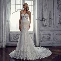 Calla Blanche Marilyn 17118 wedding dress