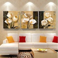 Cheap Brown Orchid Modern Art Decor Mural Painting Living Room Wall Printing Pictures Printed on Canvas (NO Frame) Room Wall Painting, Mural Painting, Oil Painting On Canvas, Painting Frames, Mural Art, Canvas Wall Art, Wall Paintings, Canvas Prints, Painting Flowers