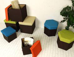 BOX STOOLS by Azumaya Co., Ltd. web site : www.azumaya-usa.com