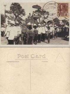 King of Thailand : King Prajadhipok (RAMA VII) พระบาทสมเด็จพระปรมินทรมหาประชาธิปก พระปกเกล้าเจ้าอยู่หัว postmarked Bangkok probably 1937 ; ๒๔๘๐