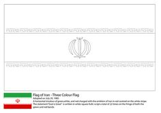 Central america map coloring social studies pinterest for Iran flag coloring page
