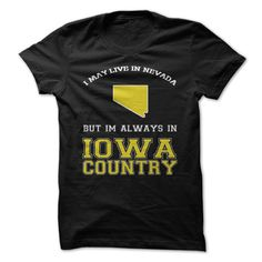 Nevada Iowa CountryGet this shirt and represent by wearing it proudly!Iowa hawkeyes, iowa, nevada fans