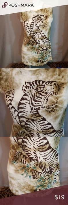 """✔4 for $25✔LUCKY BRAND Lion Muscle Tank 💲4 for $25 ( all listed as 4 for $25)💲  💸9 for $50 ( ONE FREE)💸  🎯14 for $75 ( TWO FREE)🎯  😉EARN EXCLUSIVE """"REWARDS DOLLARS"""" WITH EVERY PURCHASE. USE WITH ANY SALE. 👍  Why SHOP MY Closet? 💋Most NWT or worn once 💋Smoke /Pet free 💋OVER 400 🌟🌟🌟🌟🌟RATINGS  💋TOP 10% / TOP RATED 💋 FAST SHIPPER  💋20% OFF BUNDLES 💋DAILY SPECIALS/ NEW LISTINGS 💋REWARDS PROGRAM  💋EARN FREE $$$ Lucky Brand Tops Tank Tops"""