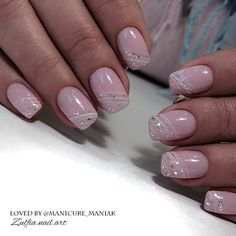 Pin by Nadine Heiser on Nageldesign Simple Acrylic Nails, Acrylic Nail Shapes, Pink Acrylic Nails, Almond Acrylic Nails, Shellac Nails, Acrylic Nail Designs, Nail Manicure, Pink Nails, Nail Art Designs