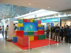Publicidad Punto de Venta | SP Integrales Escenario publicitario en centros comerciales para Windows