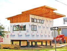 """Yes, you read that correctly. Brad Pitt, the actor and not someone with the same name, and his non-profit company Make It Right aim to bring a sustainable housing option to New Orleans, a city that desperately needs viable housing solutions ever since Hurrican Katrina wreaked havoc years ago. They are teaming up with FYI's """"Tiny House Nation"""" to build a 496 sq. foot ..."""