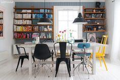 Love this room from blog Fjeldborg. Wall colour: Jotun Lady 4710 Duggblaa ¤