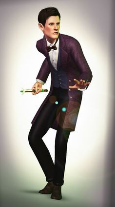 The 11th Doctor in sims version