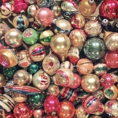 #TBT to these amazing retro ornaments! They just don't make em like they used to!