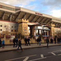 Upton Park, Boleyn Ground, London. West Ham United. Blowing Bubbles, West Ham, Badges, Street View, The Unit, London, Park, Sports, Hs Sports