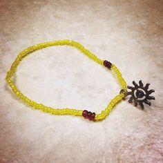 Delicate Sun Bracelet on Etsy, $10.00