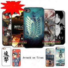Attack on Titan Shingeki no Kyojin i Phone 4/4s Case Cosplay #2 - \(OoO)/ Can I have a iphone now?!