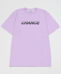 WEGO LADY'S(ウィゴーレディース)の∴WEGO/CHANCECHANCE Tシャツ(Tシャツ/カットソー)|ライトパープル