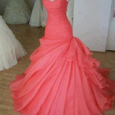 Gorgeous Ball Gown Sweetheart Sweep Train Prom Dress