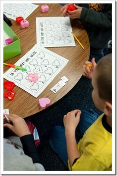 Unscramble the letter tiles to spell a sight word