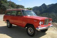 1973 Jeep Wagoneer 4x4 360 V8 Survivor Front