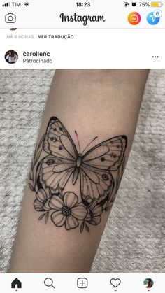 Love Tattoos, Beautiful Tattoos, Black Tattoos, Body Art Tattoos, Small Tattoos, Girl Tattoos, Tattoos For Women, Tatoos, Butterfly Tattoos On Arm