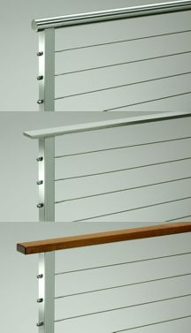 Stainless steel cable railing hardware available from | DIY Cable ...