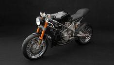 venier customs recycles ducati bike into 999vx cafe racer - designboom   architecture & design magazine