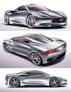 2012 Nissan Infiniti Emerg-E Concept Car