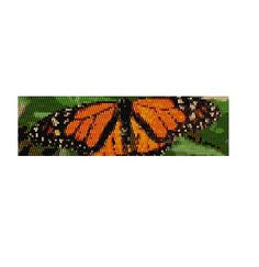 Peyote Bracelet Pattern Monarch Butterfly от KarenBrunsDesigns