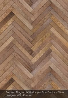 Parquet Dogtooth wallpaper from Surface View