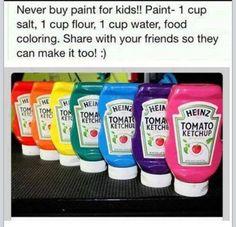 Never Buy Paint For Your Kids Again! Dennis Lambert, DDS in Mason & Cincinnati, OH @ cincykidsteeth.com
