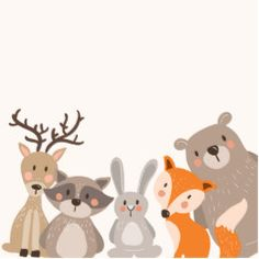 Shop Woodland baby shower favor tag Sticker Animals Fox created by Anietillustration. Deco Baby Shower, Shower Bebe, Baby Shower Favors, Woodland Baby, Woodland Animals, My Little Baby, Baby Love, Baby Room Boy, Forest Baby Showers