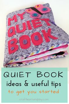 Ultimate Quiet Book Guide: Everything You Need To Know About Busy Book For Toddlers Some of the best sewing tips and quiet book ideas you will find that will help you sew quiet book f Diy Quiet Books, Felt Quiet Books, Sewing Hacks, Sewing Projects, Sewing Tips, Book Activities, Toddler Activities, Indoor Activities, Summer Activities