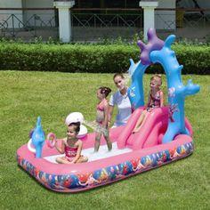 Coś ekstra dla małej księżniczki na lato :) http://helikopterek.pl/p/basen-nadmuchiwany-z-fontanna-i-slizgawka-little-mermaid/