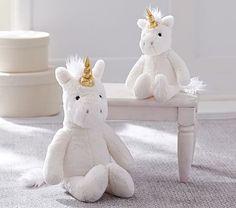 Unicorn Faux Fur Plush Collection #pbkids