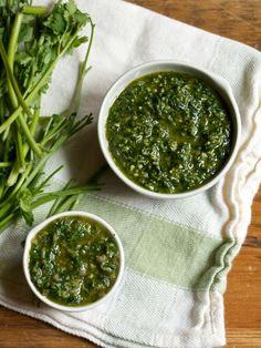 Green Sauces   Big Girls Small Kitchen