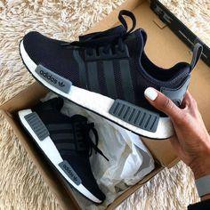 adidas nmd Source by heelstplahndr zapatillas Nmd Sneakers, Sneakers Mode, Sneakers Fashion, Fashion Shoes, Adidas Sneakers, Black Adidas Shoes, Black Adidas Nmd, Black Adidas Dress, Fashion Black