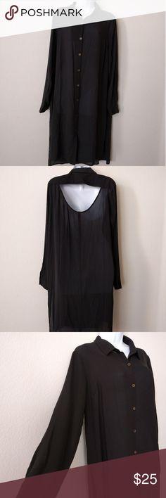 Rock and Republic blouse Black woman's button up blouse, Rock and Republic Rock and Republic Tops Blouses
